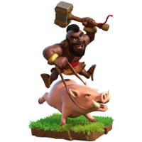 Informasi Hog Rider di COC
