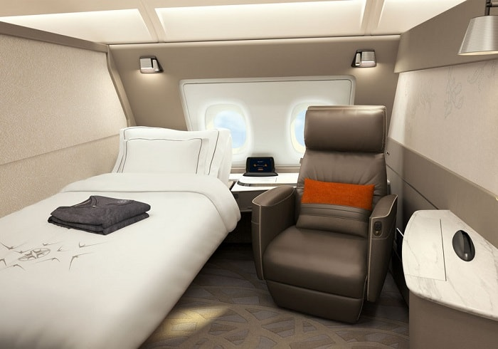 new Singapore Airline's A380
