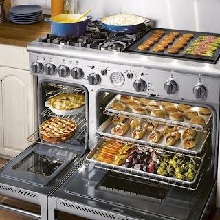 oven lengkap dengan berbagai masakan