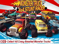Monster Truck 4×4 Stunt Racer v1.5 Apk (Mod Money) Terbaru 2017