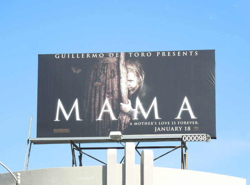 Mama movie billboard
