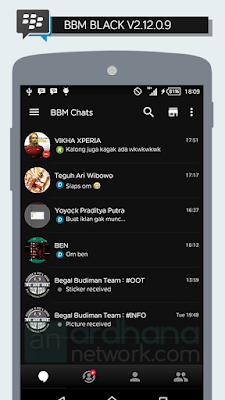 Preview BBM Black V2.12.0.9