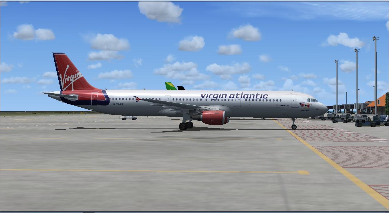Download Project Airbus A321 F   Waktu Bersimulasi   Waktu Bersimulasi