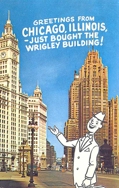 Postcard Gems: Greetings from Chicago -- Just Bought the