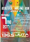 Beautiful Malang Run • 2017