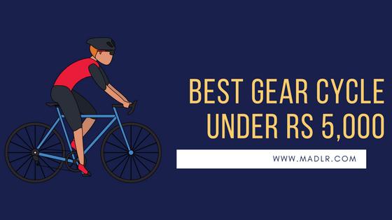 Best Gear Cycle Below 5000