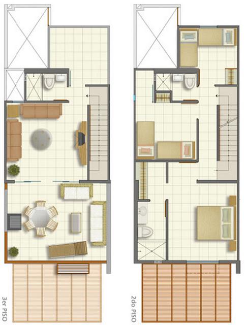 planos de casas pequenas peru