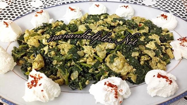 Yumurtalı Ebegümeci Kavurması - www.inanankalpler.net