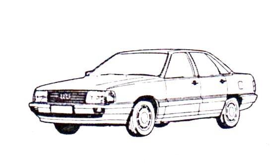 1990 Audi 100 Owners manual