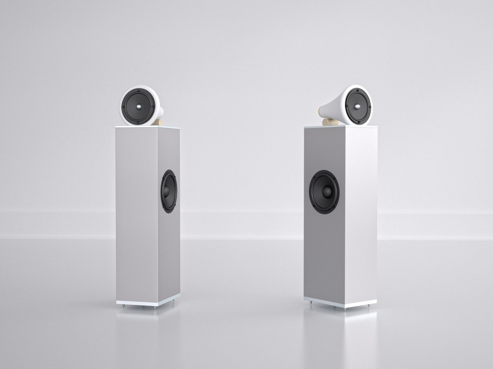 Mono and Stereo High-End Audio Magazine: Joey Roth Ceramic Towers