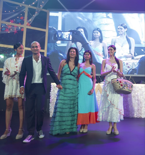 Image 7: Sachin and Babi showcase the exclusive collection for W Goa at W Goa preview