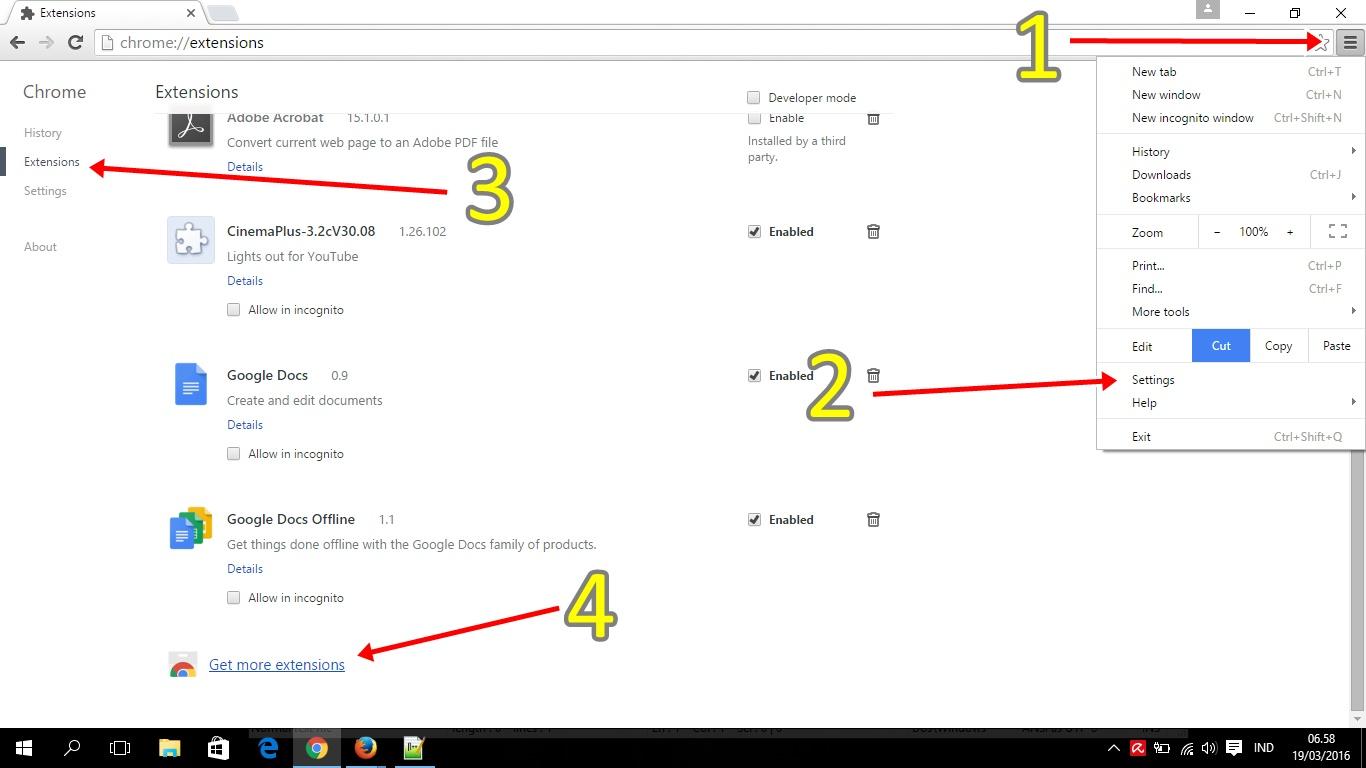 Add On Google Chrome Untuk Membuka Situs Yang Diblokir