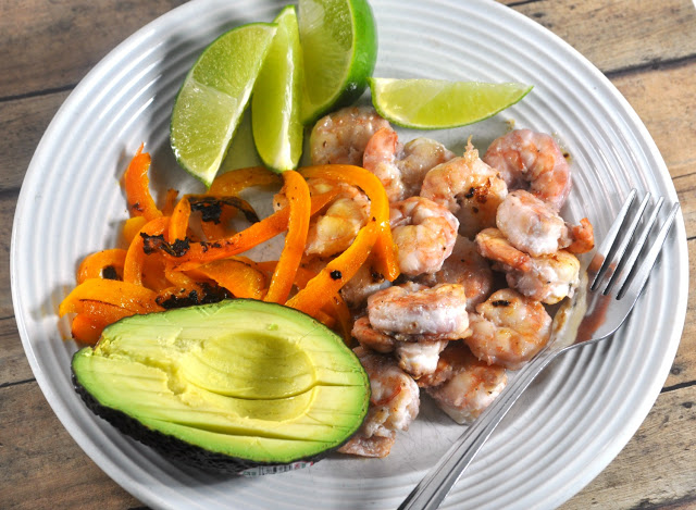 raspberry shrimp lime tacos - light and healthy