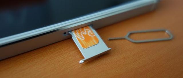 Cara Membuka Slot Kartu SIM di iPhone