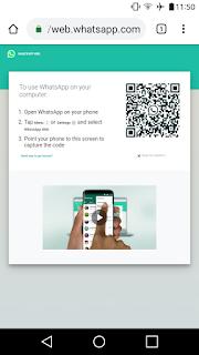 Cara Masuk Whatsapp Web Lewat Android