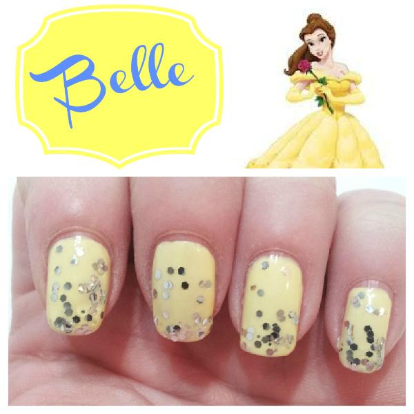 Disney Princess Inspired Nails - Hairspray and Highheels