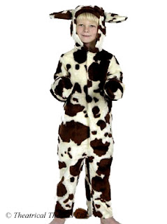 Cow Kids Nativity Play Costume from Theatrical Threads ltd