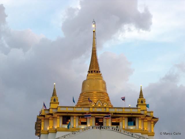 WAT SAKET, TEMPLO DE LA MONTAÑA DORADA. Bangkok. Tailandia.