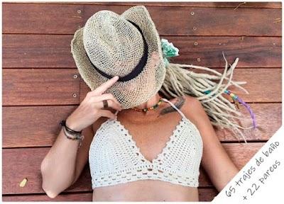 65 trajes de playa a crochet. Elige tu bañador o bikini