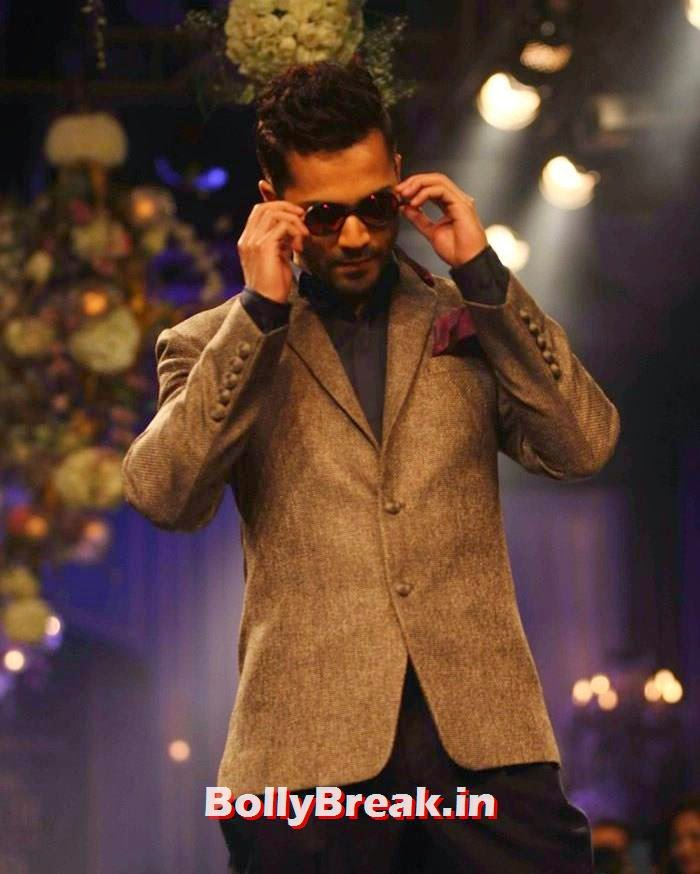 Varun Dhawan, Pics of Manish Malhotra Show at Lakme Fashion Week 2014