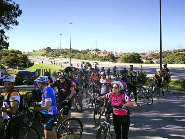 Passeio do CBT terá aproximadamente 90 Km (ida e volta). Foto: acervo Corujas Bike Team