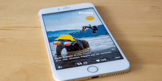 Twitter Introduce Stickers To Add Fun On Your Photos