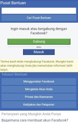 mengembalikan akun fb yang dihack