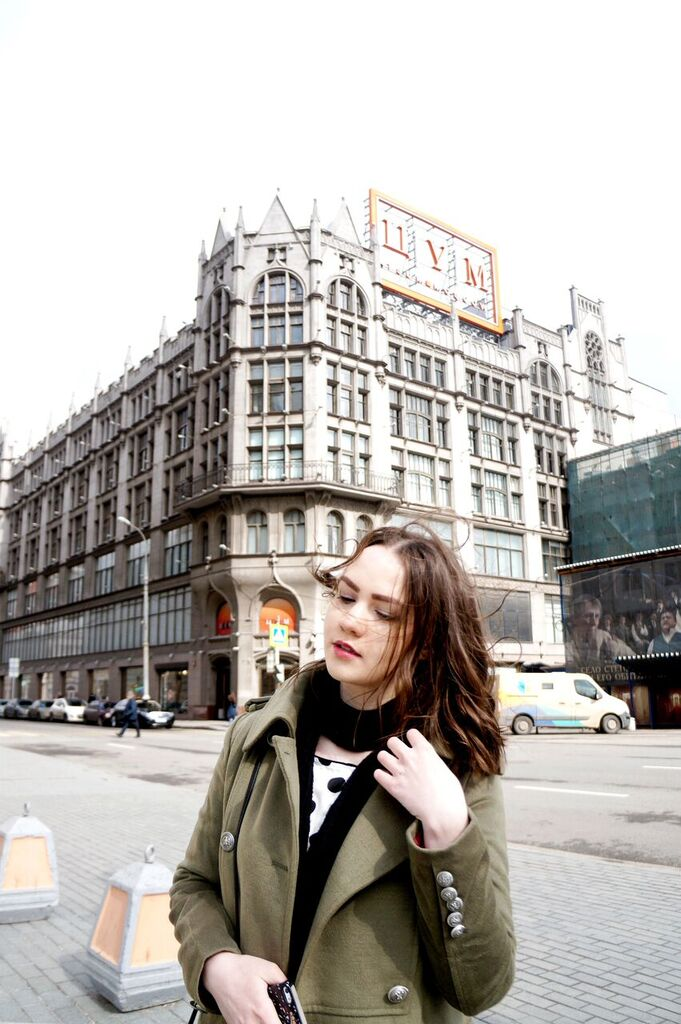 Fashion Blogger | Alina Ermilova | khaki | Outfit
