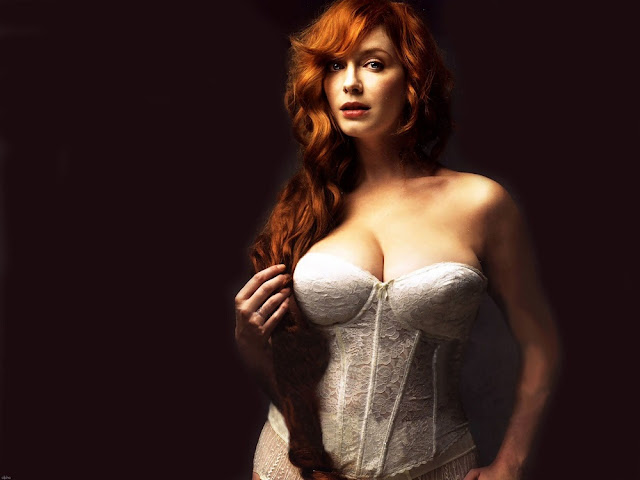 Christina Hendricks' chest