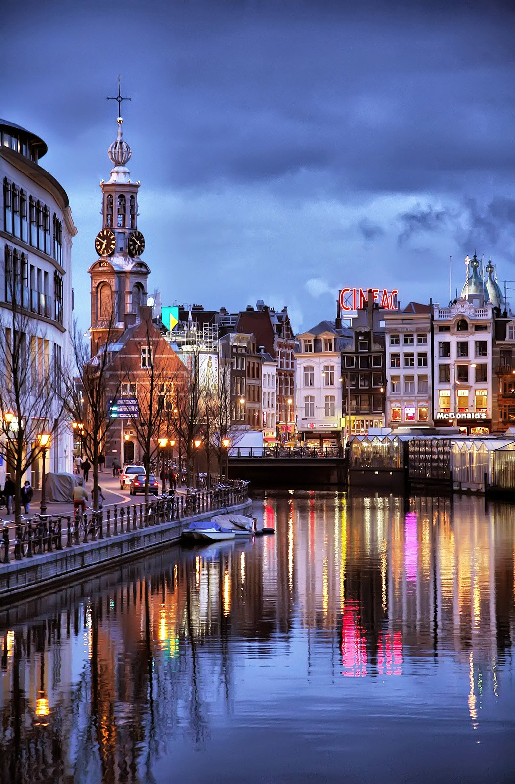 The Canal Ring of Amsterdam, Netherlands | 10 Places to See Beautiful Sunset Around The World