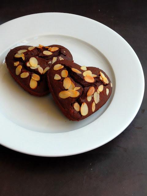 Chocolate Potato Muffins, potato mini cake