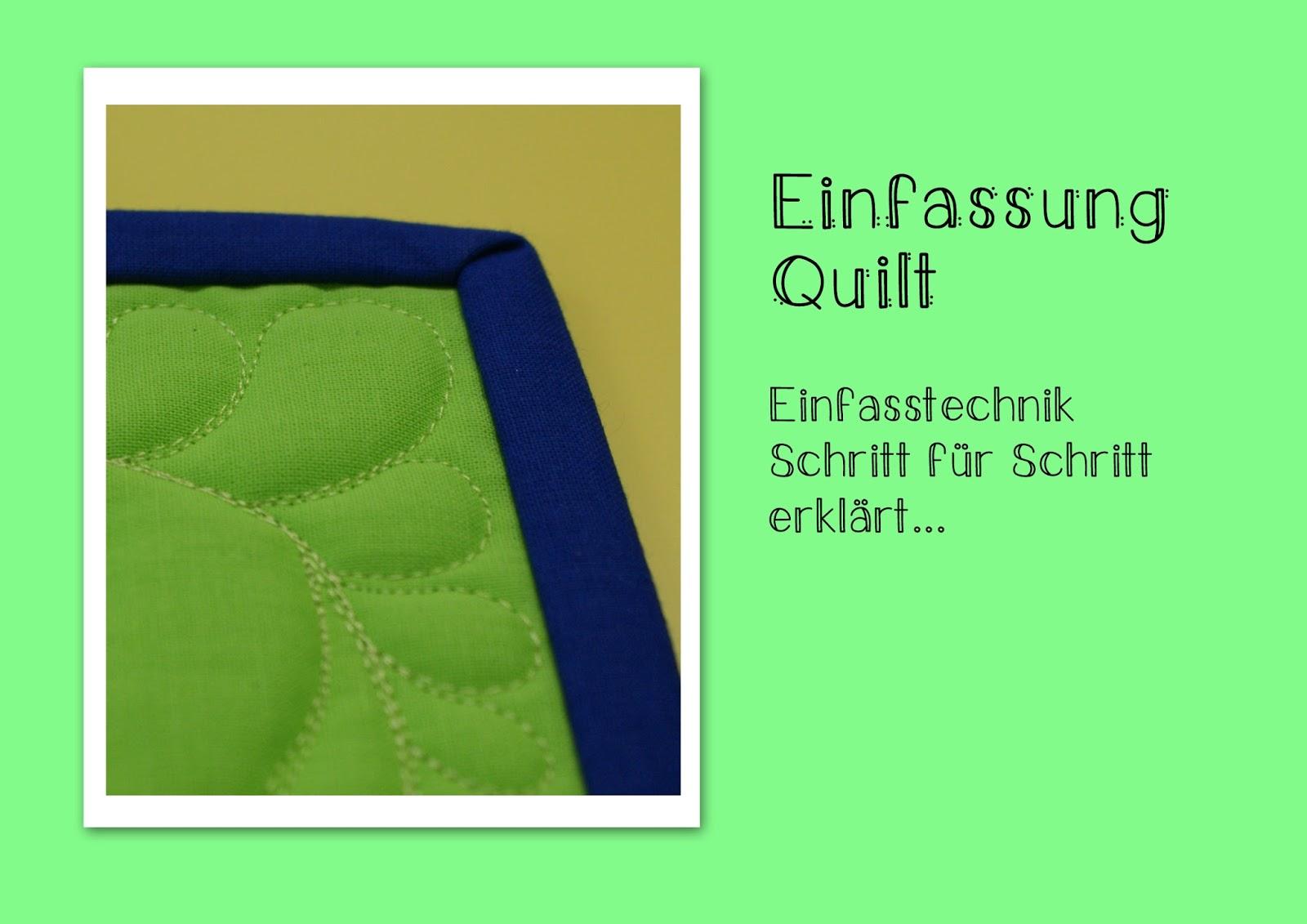 schnig schnag quilts and more binding tutorial oder. Black Bedroom Furniture Sets. Home Design Ideas