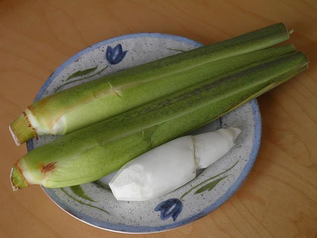Củ Cây Niễng - Zizania latifolia - Nguyên liệu làm thuốc Chữa Cảm Sốt