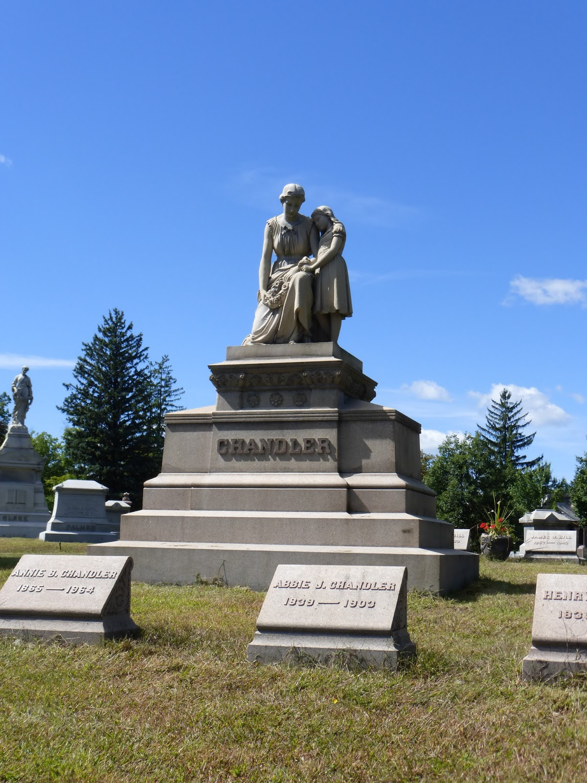 Nutfield Genealogy: Tombstone Tuesday ~ Chandler, at ...