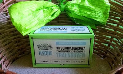 Herbata zielona w saszetkach Natjun