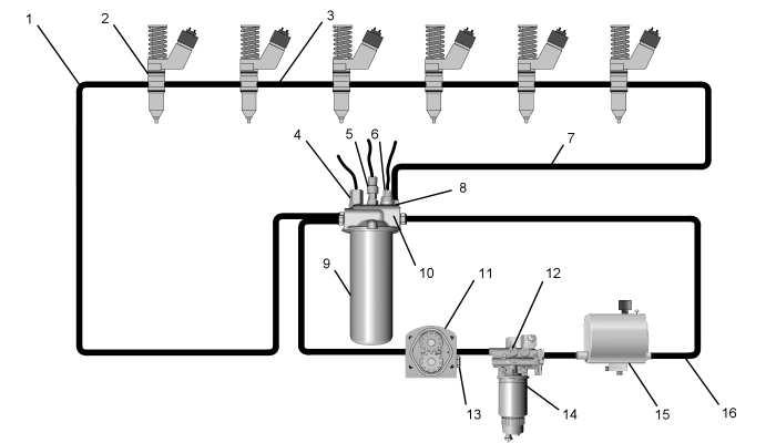 semi fuel filter