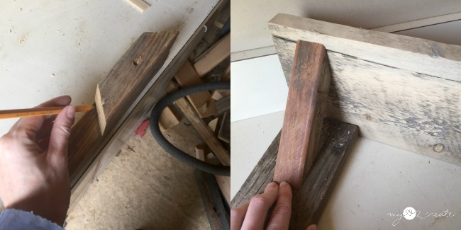 Easy to build Wood Shelves | My Love 2 Create