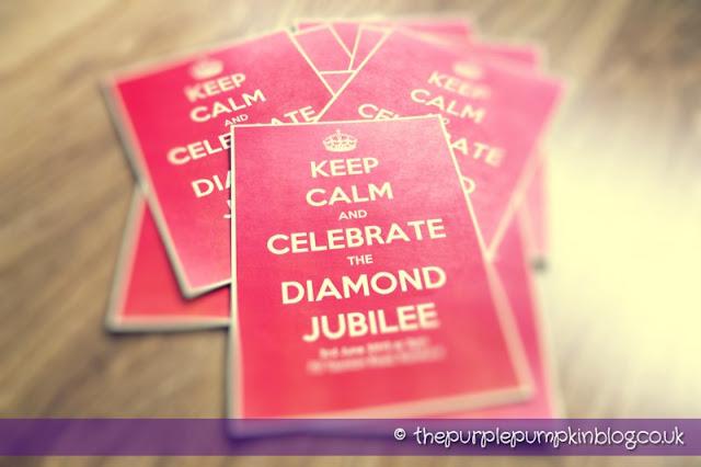 Diamond Jubilee Big Lunch Party Invitations | The Purple Pumpkin Blog