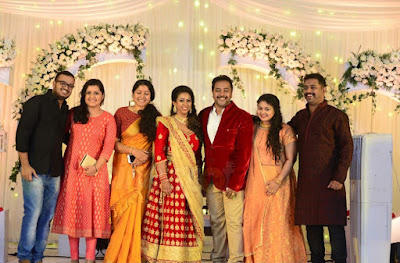 Dancer Biju Dhwani Tarang wedding reception _98