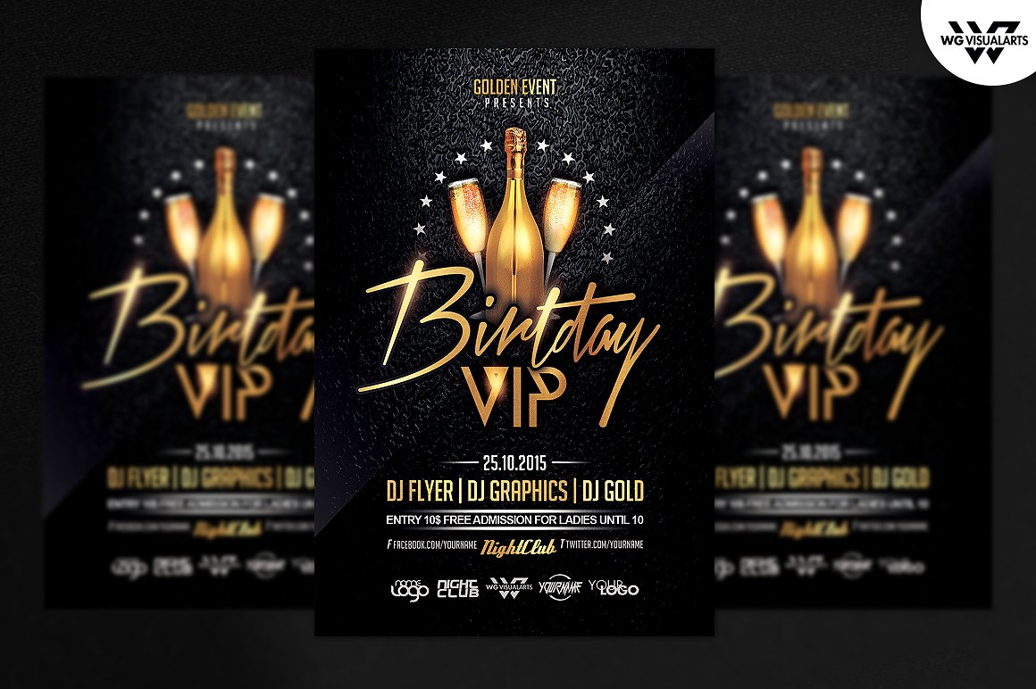 99 Best Party & Club Flyer PSD Templates - Graphic Design Resources