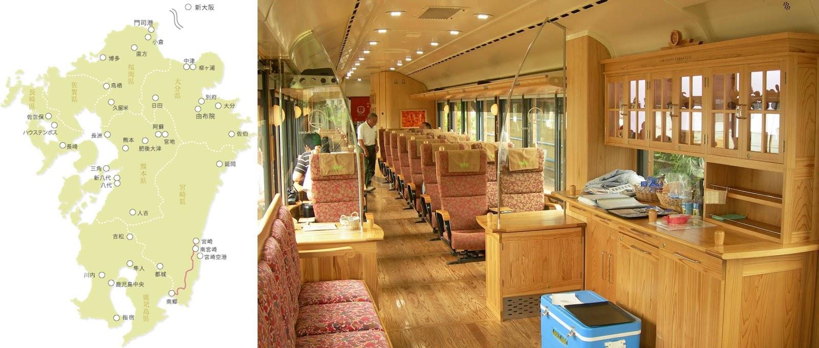九州-特色觀光列車-推薦-D&S列車-山幸海幸-攻略-特色列車預訂-觀光列車-火車-JR-交通-Kyushu