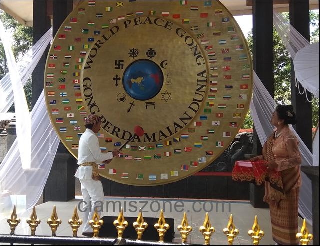 15 Raja Nusantara Hadiri Peringatan Gong Perdamaian Dunia ke-9