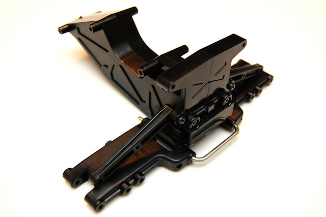 Tamiya Blackfoot Xtreme rear suspension