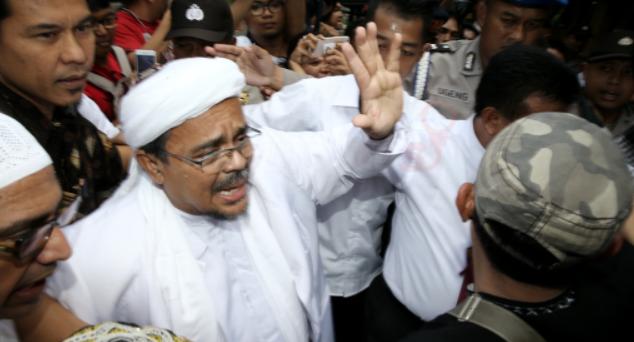 Habib Rizieq: Penusukan Hermansyah untuk Gagalkan Rekonsiliasi