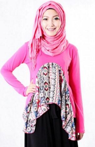 model baju atasan muslim wanita muslimah terbaru 22 34 model baju atasan muslim wanita muslimah 2017, cantik modis,Model Baju Wanita 34