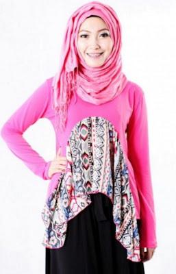 Permalink to 34+ Model Baju Atasan Muslim Wanita Muslimah 2018, Cantik Modis Terbaru
