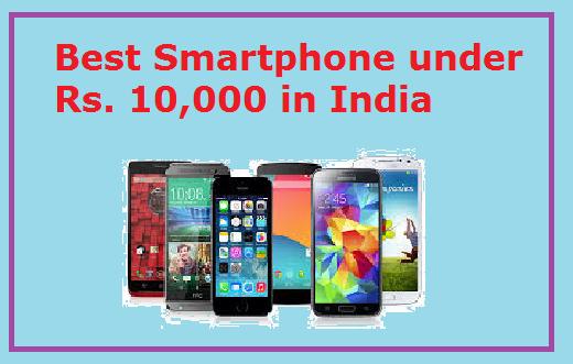 Best Smartphone Under 10000 to buy in 2019
