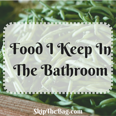 What kitchen items I use in the bathroom.