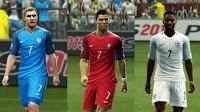 3Kits: Croatia, England, France, Poland, Portugal, Turkey. Pes 2013