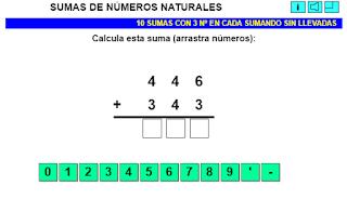 Resultado de imagen de SUMAS Y RESTAS CON NUMEROS HASTA 499
